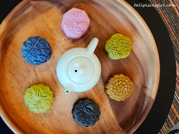Purple Cane Halal Tea Mooncake