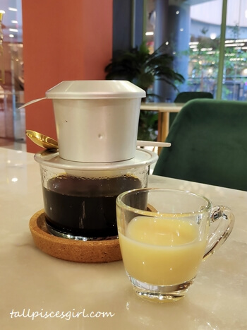 Nguyen's Speciality Traditional Vietnamese Coffee (Hot: RM 8)