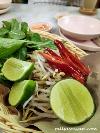Seasonal Vegetables to pair with Pho