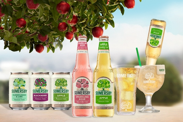 Somersby celebrates Apple Day this October with cider lovers nationwide