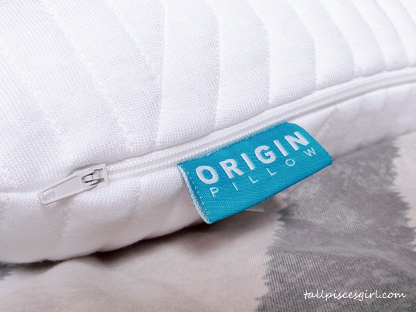 Origin Superior Coolmax Latex Pillow with removable Tencel pillow cover