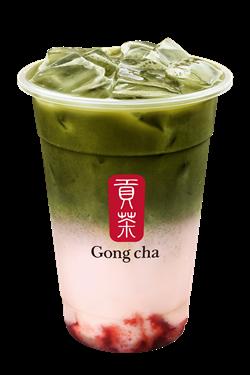 Gong Cha 12.12 Birthday Drink - Gong Cha Strawberry Matcha Latte