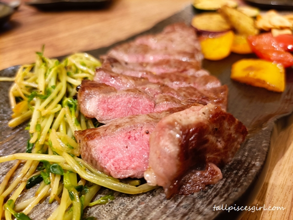 MUST TRY at Okonomi: Australian Wagyu Sirloin