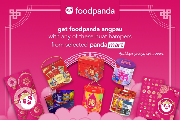 CNY Hampers from selected pandamart