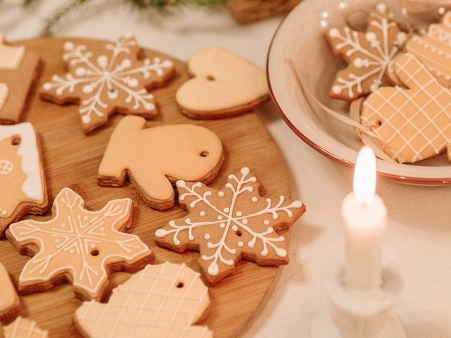 Baking Cookies for Christmas