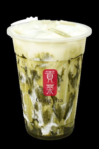 Gong Cha Matcha Marble