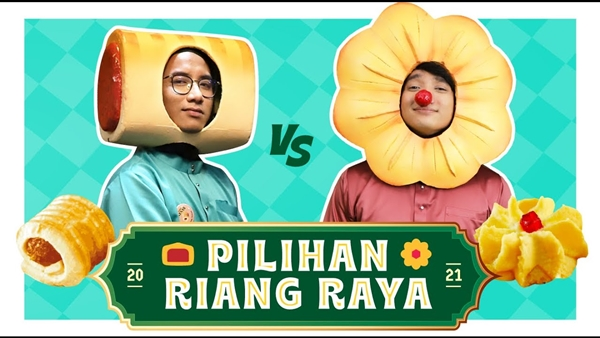 Riang Raya with Yoodo - Tart Nenas vs SamPerit