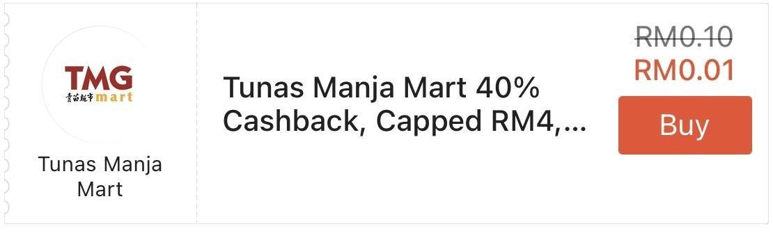 Tunas Manja Group Mart ShopeePay Cashback