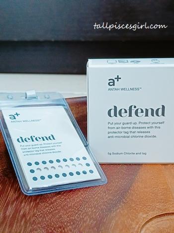 Defend Tag by Antah Wellness