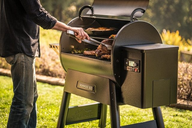 Cooking on the grill has more health benefits than cooking on the stove or in the oven
