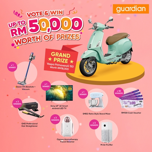 Prizes to be won in Guardian Awards 2021
