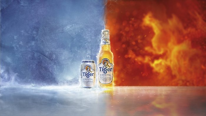 Tiger Crystal - crystal cold refreshment, brewed for your fire